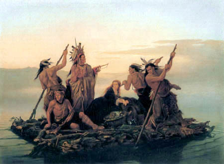 the new world indians vs europeans The history of early georgia is largely the history of the creek indians  joel w martin, sacred revolt: the muskogees' struggle for a new world.